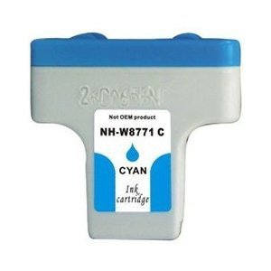 HP C8771WN (HP 02) Cyan Compatible Ink Cartridge
