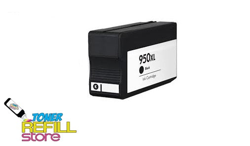 Black Compatible High Yield Ink Cartridge for HP CN045AN - 950XL - Shows Accurate Ink Levels
