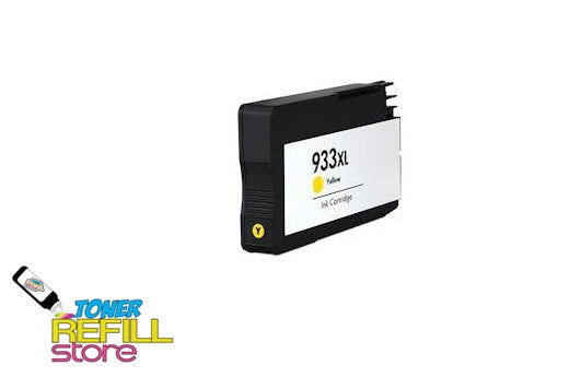 Yellow Compatible High Yield Ink Cartridge for HP CN056AN - 933XL - Shows Accurate Ink Levels