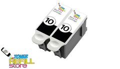 2 Kodak 10XL 10 8237216 Black Ink Cartridges for Kodak ESP 3 ESP 3250 ESP 5210 ESP 7