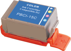 Canon_BCI-15 BCI-15C Compatible High Yield Color Ink Cartridge