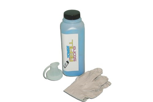 Cyan Toner Refill Kit Compatible with the Samsung CLP-500 - 550