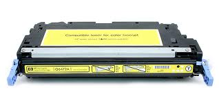 HP Q6472X High Yield Yellow Compatible Toner Cartridge for 3800