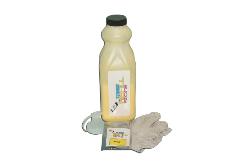 Okidata C9650 42918981 Yellow Toner Refill With Chip