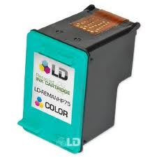 HP CB337WN (HP 75) Compatible Color Ink Cartridge