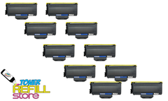 Brother TN-360 TN360 10 Pack High Yield Compatible Toner Cartridges