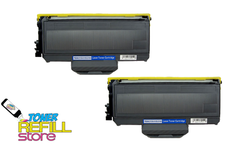 Brother TN-360 TN360 2 Pack High Yield Compatible Toner Cartridges