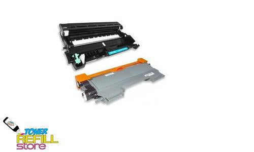 1 Pack Brother Compatible TN450 Toner Cartridges and 1 Compatible Brother DR420 Drum Unit