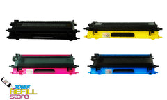 4 Pack Premium Compatible TN-115 Toner Cartridges for the Brother DCP-9040 HL-4040