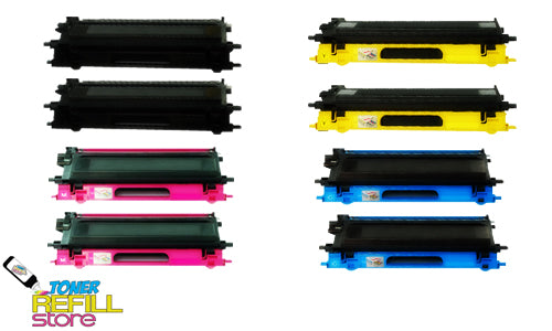 8PK Premium Compatible TN-115 Toner Cartridges for the Brother DCP-9040 HL-4040