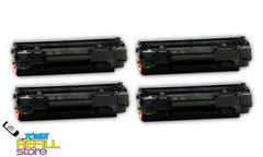 HP LaserJet CB436A M1522n P1505 4 Pack Compatible Toner Cartridge