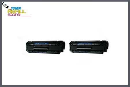 2 Pack Compatible Q2612A 12A Toner Cartridges for HP LaserJet 1012 1018 1020