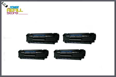 4 Pack Compatible Q2612A 12A Toner Cartridges for HP LaserJet 1012 1018 1020