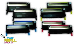 8 Pack Toner Cartridges compatible with the Samsung CLP-320 CLP-325 CLT-K407S CLT-C407S CLT-M407S CLT-Y407S