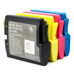 Brother LC51 LC-51 4 Pack Compatible Ink Cartridges (BK, C,Y,M)
