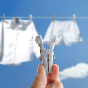 16 pcs  Windproof Seamless Clothes Clips Household Plastic  Laundry Drying Clips Soft Clothespins Photo Hangers Racks (Light Grey) | 16, Clips, Clothes, Clothespins, Drying, Hangers, Household, Laundry, pcs, Photo, Plastic, Racks, Seamless, Soft, Windproof | akolzol