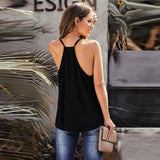 Summer Tank Top Women Clothes Solid Color V-neck Sleeveless Suspender Black Red Sexy Backless Fashion For Women's Clothing 2020 | 2020, Backless, Black, Clothes, Clothing, Color, Fashion, For, Red, Sexy, Sleeveless, Solid, Summer, Suspender, Tank, Top, Vneck, Women, Womens | akolzol