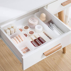 Home Free Combination Transparent Plastic Cosmetic Storage Box Wholesale Classification Drawer Organizing Box | akolzol