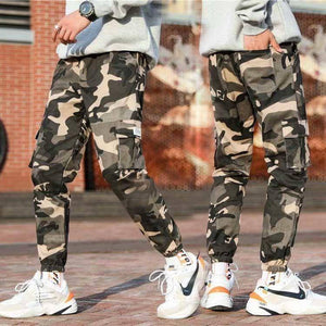 Mens Joggers Pants Men Camouflage Tactical Cargo Pants Male Jogger 2020  New Military Camo Pants Male Trousers Pantalon Hombre | akolzol