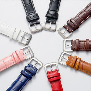 Cow Top Leather Watchband 20mm watch strap 22mm watch band 24mm Genuine Leather Watch Band Croco Watch Strap for Tissot Seiko | akolzol