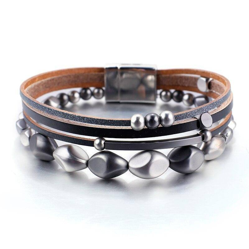 Trendy Natural Beads Strand Bracelet For Unisex Fashion Metal Charm Wrap Bangles for Women Gift Jewelry wholesale Hot | Bangles, Beads, Bracelet, Charm, Fashion, Flashbuy, For, Gift, Hot, Jewelry, Metal, Natural, Strand, Trendy, Unisex, wholesale, Women, Wrap | akolzol