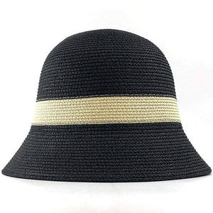 Summer Fashion women Straw Hat Lady Summer Sun Hat Visor cap Panama Style Bucket Cap Strawhat Beach Hat Outdoor girl cap | akolzol