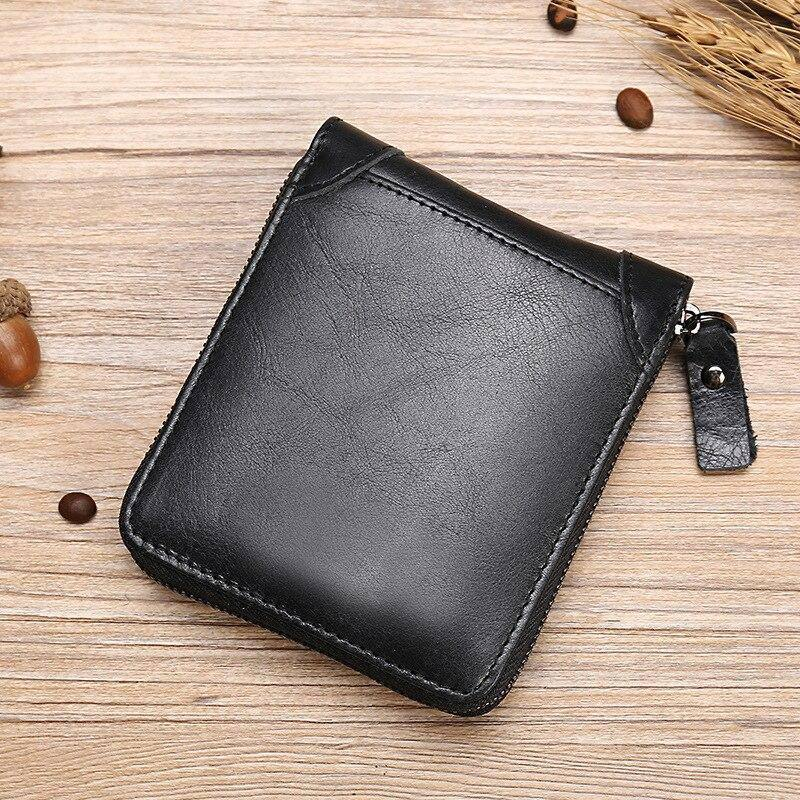 New luxury men and women cowhide wallet genuine leather short zipper wallet coin purse card holder multi-card fashion wallets | and, card, coin, cowhide, fashion, genuine, holder, leather, luxury, men, multicard, New, purse, short, wallet, wallets, women, zipper | akolzol