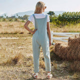 2021 Spring New Spaghetti Strap Jumpsuit Women Casual Bow Overalls Female Solid Color High Waist Trousers Jumpsuit | 2021, Bow, Casual, Color, Female, High, Jumpsuit, New, Overalls, Solid, Spaghetti, Spring, Strap, Trousers, Waist, Women | akolzol