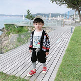 Boys Sweater Cardigan Coat Children Baby Sweater Pullover Sweater Boy Children Winter Western Style Children's Clothing | akolzol