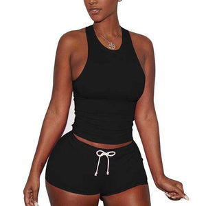 Summer Tracksuits Women Set Sweatsuit Sleeveless Two Piece Set Summer Sweat Suits Women Two Piece Outfits Short Sets For Women | For, Outfits, Piece, Set, Sets, Short, Sleeveless, Suits, Summer, Sweat, Sweatsuit, Tracksuits, Two, Women | akolzol