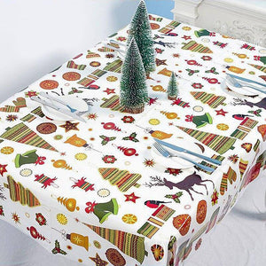 1pc 108*179cm Christmas Decoration Cartoon Printed Disopable Tablecloth Party Waterproof PVC Table Cloth for Home Supplies | 108179, Cartoon, Christmas, Cloth, cm, Decoration, Disopable, for, Home, Party, pc, Printed, PVC, Supplies, Table, Tablecloth, Waterproof | akolzol