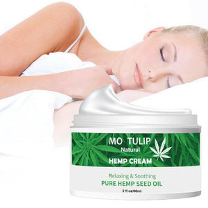 60ml Hemp Oil Face Cream Hyaluronic Acid Moisturizer Nourishing Collagen Skin Care Cream Anti-inflammation And Arthritis Pain | akolzol