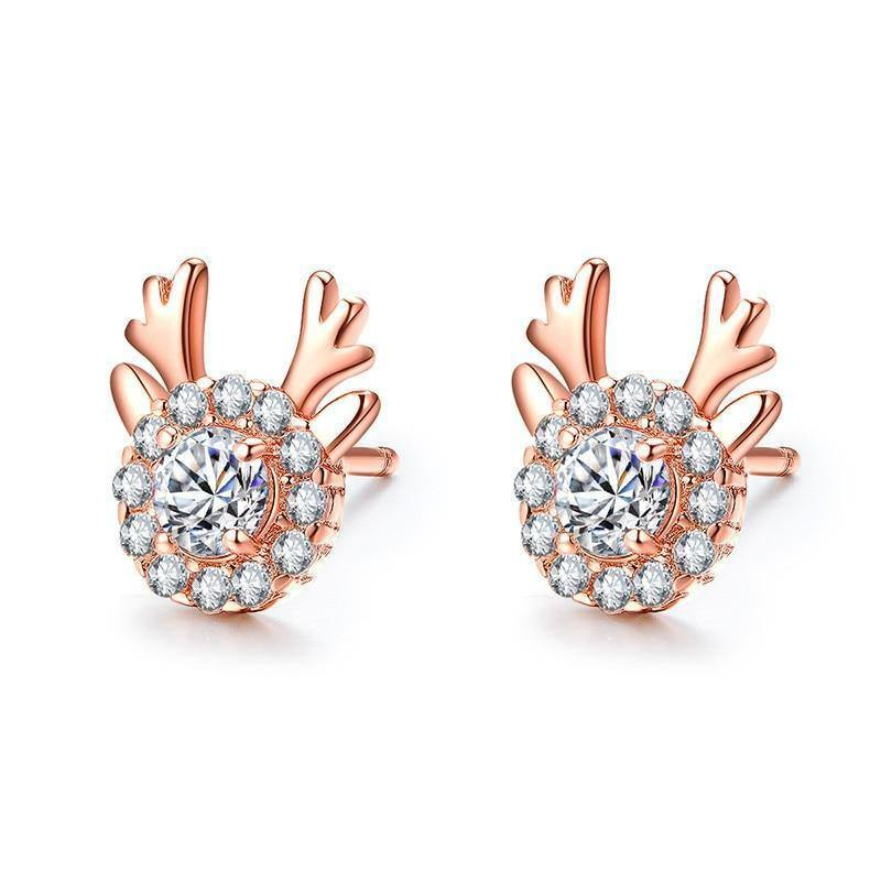 100% Real 14K Rose Gold Jewelry Stud Earring for Women Natural Diamond 925 Jewelry Aretes Mujer Garnet Earrings Bizuteria | 100%, 14, 925, Aretes, Bizuteria, Diamond, Earring, Earrings, for, Garnet, Gold, Jewelry, Mujer, Natural, Real, Rose, Stud, Women | akolzol