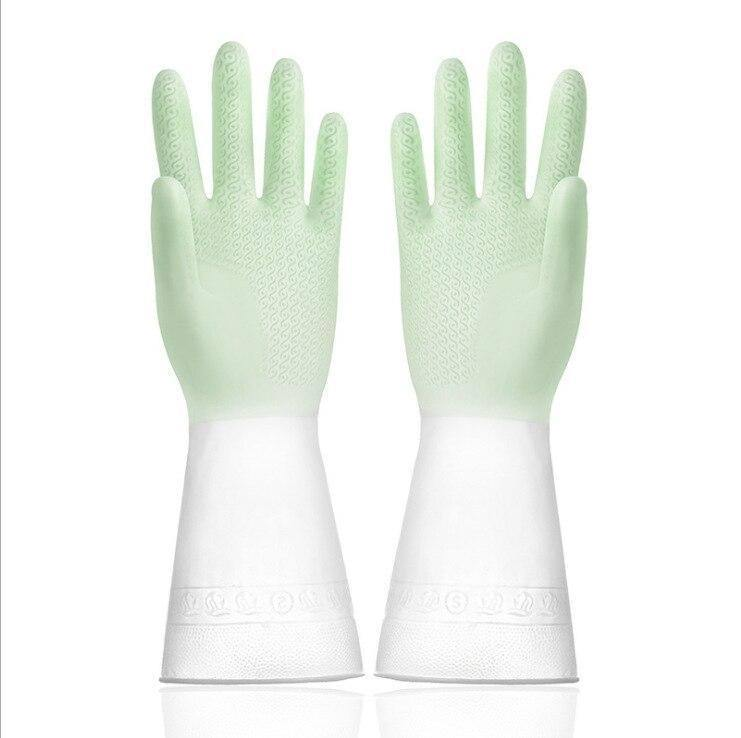2PCS Dishwashing Gloves Kitchen Household Cleaning Tool Silicone Glove Magic Housework Gloves Gradient Color Thin Section summer | Cleaning, Color, Dishwashing, Glove, Gloves, Gradient, Household, Housework, Kitchen, Magic, PCS, Section, Silicone, summer, Thin, Tool | akolzol