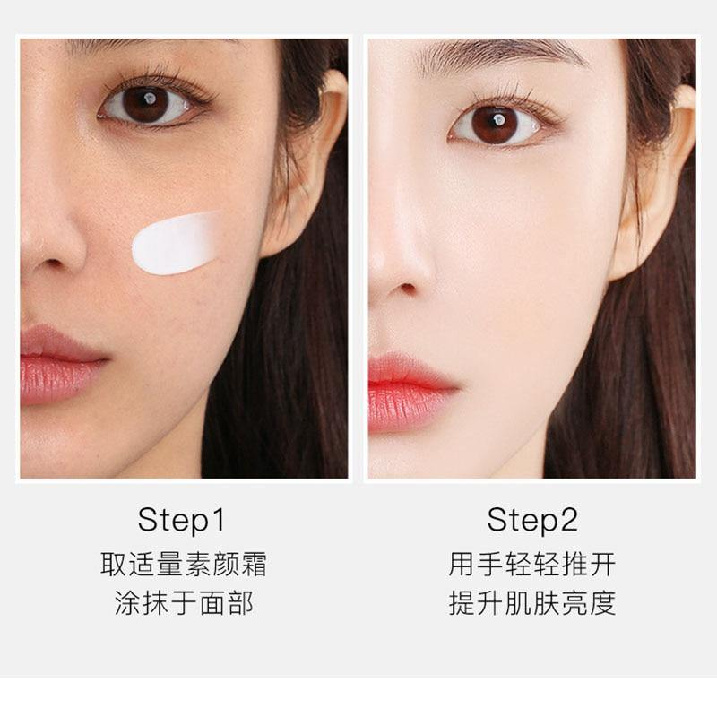 Face Nicotinamide Cream Moisturizing Shrinking Pores Brighten Skin Color Concealer Isolation Cream Face Skin Care | akolzol