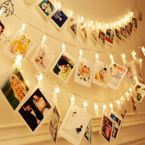 1.5M 10LED Card Photo Clips String Light Battery Garland Fairy Light Lamp for Wedding Valentine's Day Photo Wall Decoration | 10, 15, Battery, Card, Clips, Day, Decoration, Fairy, for, Garland, Lamp, LED, Light, Photo, String, Valentines, Wall, Wedding | akolzol