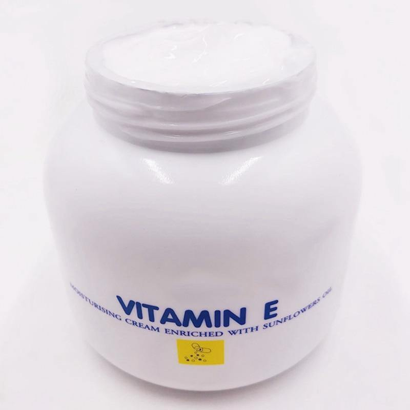 Vitamin E Cream Vitamin E Thailand Made SALE Whitening Cream Moisturizing Cream Lotion 200G (White) | akolzol