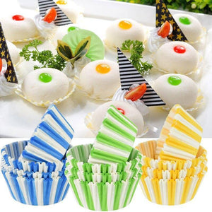 100pcs Multicolor Cupcake Baking Tool Muffin Case Liners Cup Cake Tray Bakeware Kitchen Accessories Wedding Party Supplies | 100, Accessories, Bakeware, Baking, Cake, Case, Cup, Cupcake, Kitchen, Liners, Muffin, Multicolor, Party, pcs, Supplies, Tool, Tray, Wedding | akolzol