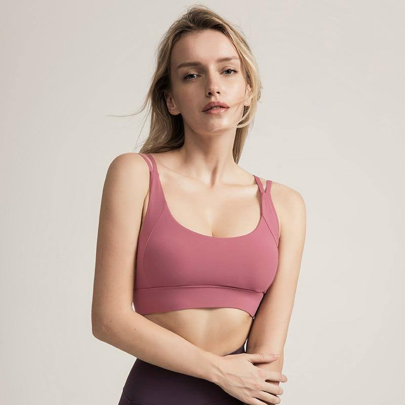 Adjustable Sports Bra Push Up Seamless Plus Size Mesh Crop Tops Running Fitness Women Sport Active Wear Sexy Yoga Gym Bra Padded | akolzol