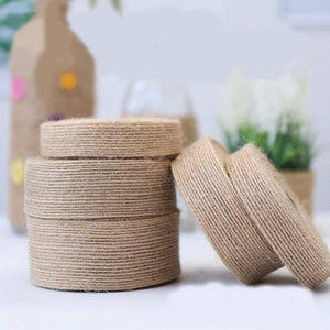 10Meter Natural Hessian Ribbon Jute Burlap Rolls Festival Party Gift Wrapping  Vintage Ornament Rustic Wedding Decor Supplies | 10, Burlap, Decor, Festival, Gift, Hessian, Jute, Meter, Natural, Ornament, Party, Ribbon, Rolls, Rustic, Supplies, Vintage, Wedding, Wrapping | akolzol