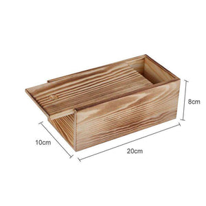 European Classic Wood Candy Box with Lid Dry Fruit Snack Box Home Wooden Storage Dispenser Nuts Storage Plate Wedding Tray | akolzol