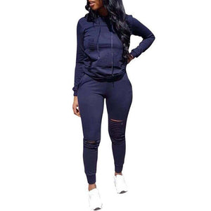 2020 Autumn Tracksuits Women Set 2 Pieces Winter Two Piece Set Track Suit Women Plus Size Two Piece Outfits Tracksuit For Women | akolzol