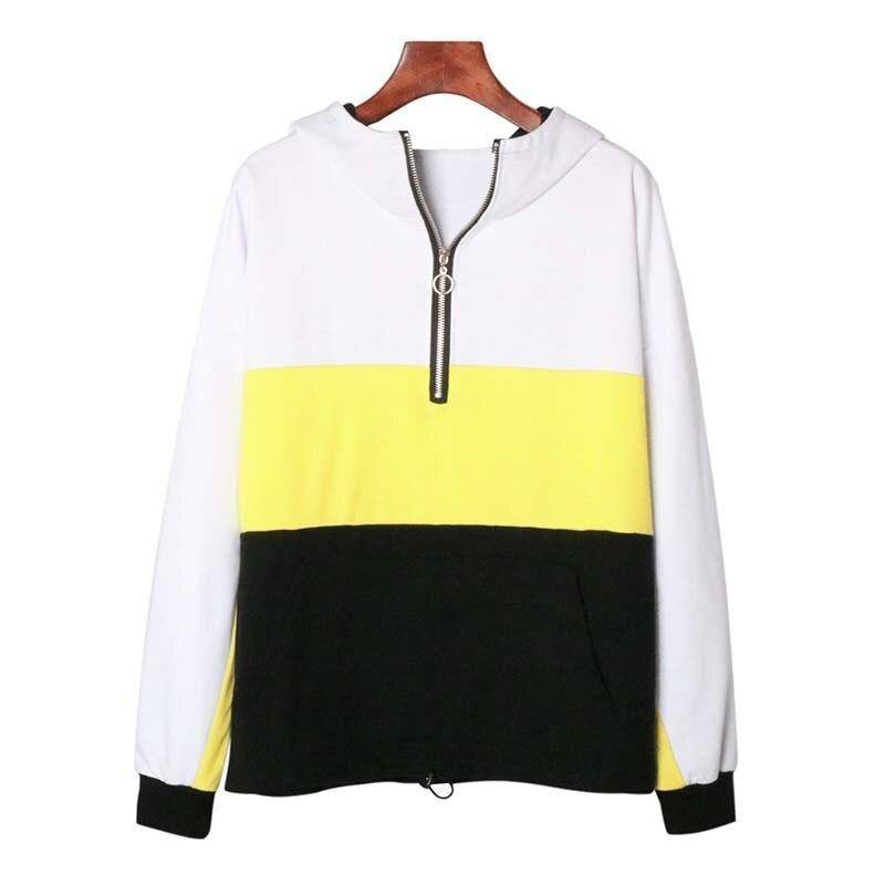 Autumn Oversized Hoodie Women Oversize Sweatshirt Famale Zip Sweat-shirt Sweat Shirt Long Sleeve Hooded Sweatshirts For Women | akolzol
