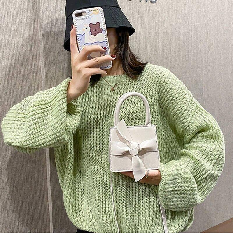 Fashion Bow Design Mini Crossbody Bags for Women Simple Wild Solid Color Handbags Trending Women's Shoulder Bags | Bags, Bow, Color, Crossbody, Design, Fashion, for, Handbags, Mini, Shoulder, Simple, Solid, Trending, Wild, Women, Womens | akolzol