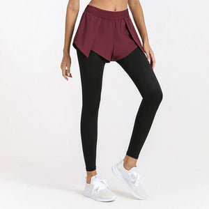 2 IN 1 Leggings With Pockets Two Piece Running Training Yoga Pants Women Tights Fitness Legging Sport Workout Mesh Gym Clothing | Clothing, Fitness, Gym, IN, Legging, Leggings, Mesh, Pants, Piece, Pockets, Running, Sport, Tights, Training, Two, With, Women, Workout, Yoga | akolzol