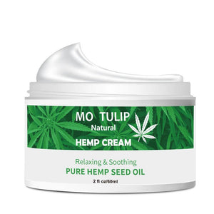 MO TULIP Hemp Oil 60ML Essence Face Cream Hyaluronic Acid Anti-aging Moisturizer Nourishing Collagen Essence Skin Care Cream | akolzol
