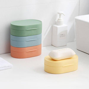 1 PC New Multifunctional Portable Waterproof Soap Box | Bathroom, Box, Cover, Dish, Multifunctional, New, PC, Portable, Sealed, Soap, Storage, Travel, Waterproof, With | akolzol