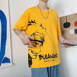 2020 new men's cotton animation T-shirt trend casual o-collar men's Japanese short sleeve clothing | akolzol