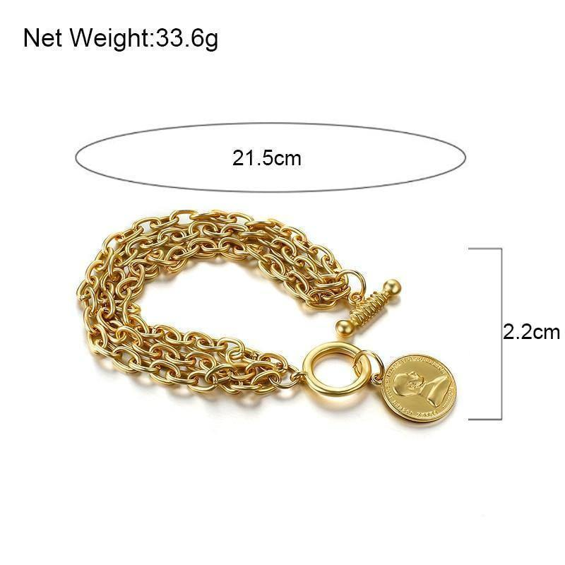 2020 Gold Color Charm Chain Bracelets For Women Men Stainless Steel Alloy Bracelets Fashion Jewelry Gift Hot Sale New | 2020, Alloy, Bracelets, Chain, Charm, Color, Fashion, FLASHBUY, For, Gift, Gold, Hot, Jewelry, Men, New, Sale, Stainless, Steel, Women | akolzol