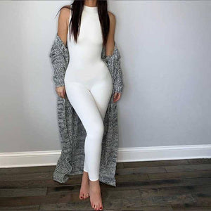 2020 Fitness Bodycon Jumpsuit Romper Women Elastic Long Workout Jumpsuit Female One Piece White Overalls For Women | 2020, Bodycon, Elastic, Female, Fitness, For, Jumpsuit, Long, One, Overalls, Piece, Romper, White, Women, Workout | akolzol